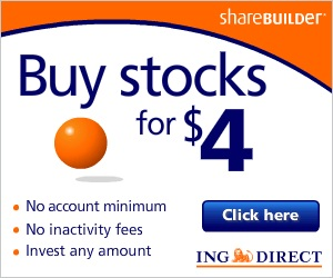 Purchase Stocks for as little as $4.00