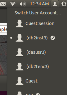 Login to your db2inst1 account